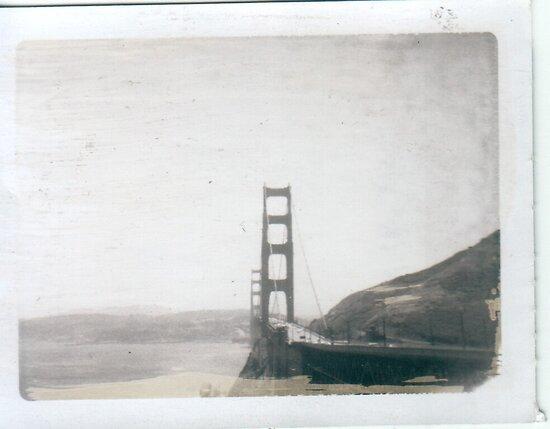 Golden Gate Bridge circa 1960s by tyrannous