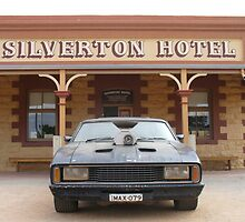 Silverton Hotel, NSW - Mad Max V8 Interceptor by DashTravels