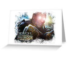 Billshock Greeting Card