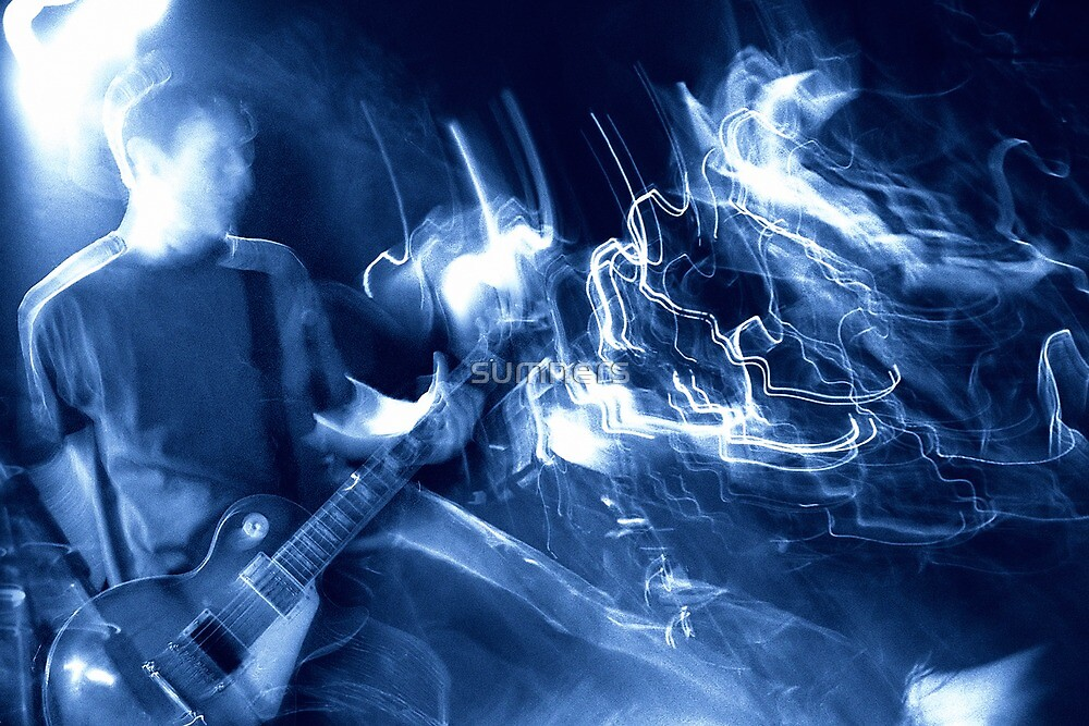 Guitar player atmosphere by sumners