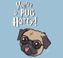Harry Pug One Piece - Short Sleeve