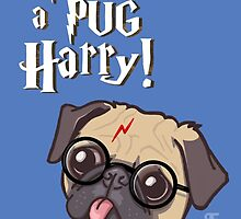 Harry Pug by Ben Farr
