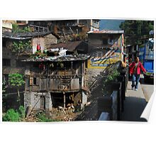 Small town in Nepal... Poster