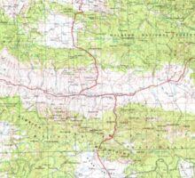 USGS Topo Map Oregon Canyon City 283311 1955 250000 Sticker