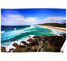 The Beautiful Coral Sea Poster
