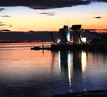 Silo Sunset by SRB1