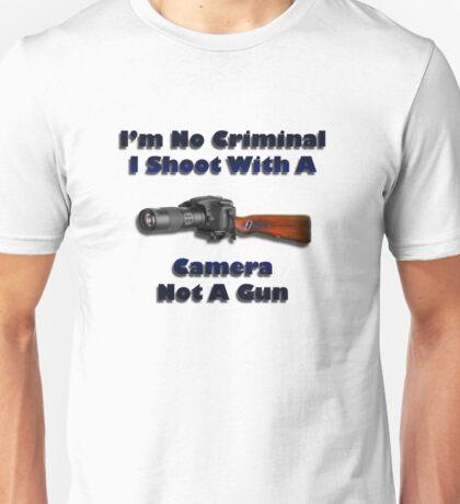 Photographers Rights Unisex T-Shirt