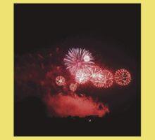 Edinburgh Festival Fireworks - 3 One Piece - Short Sleeve