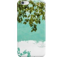 Almost touching water iPhone Case/Skin