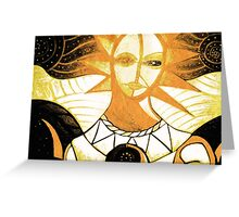 """""""soul are"""" power and peace Greeting Card"""