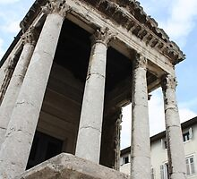 temple of augustus by husavendaczek