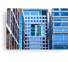 Perspective 1-Office building Toronto Canvas Print