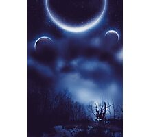 Fantastic Landscape With Planets Photographic Print