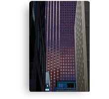 Temple of Blue - Toronto Office Building Canvas Print