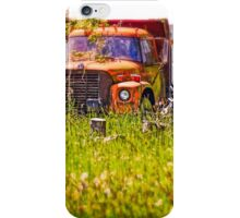 Vining Your Truck In Oregon iPhone Case/Skin