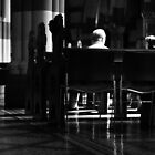 Under the pews by Ell-on-Wheels