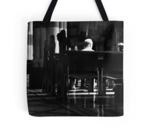 Under the pews Tote Bag