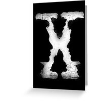 X-AGENTS Greeting Card