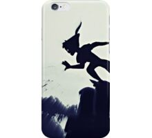 Peter Pan in Blue iPhone Case/Skin