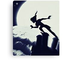 Peter Pan in Blue Canvas Print