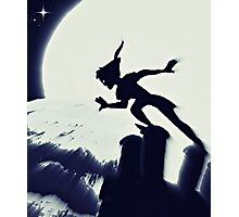 Peter Pan in Blue Photographic Print