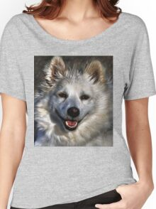 American Eskimo Women's Relaxed Fit T-Shirt