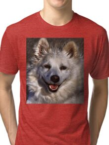 American Eskimo Tri-blend T-Shirt