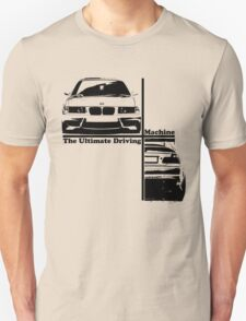 bmw e36 the ultimate driving machine T-Shirt