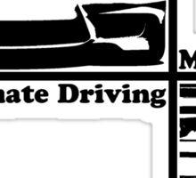 bmw e36 the ultimate driving machine Sticker