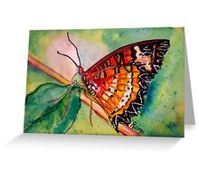 Butterfly Song Greeting Card
