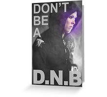 Ronda Rousey - No DNB Greeting Card