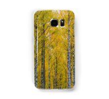 Yellow Birch Forest Samsung Galaxy Case/Skin