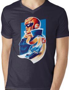 Formula Zero Mens V-Neck T-Shirt