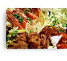 Osechi - Western Layer Canvas Print