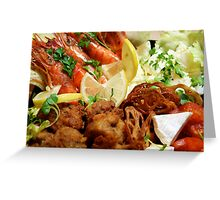 Osechi - Western Layer Greeting Card