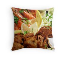 Osechi - Western Layer Throw Pillow