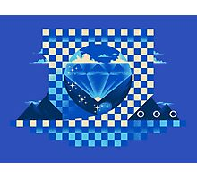 Chaos Emerald Photographic Print