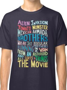 Rick and Morty Two Brothers Handlettered Quote Classic T-Shirt