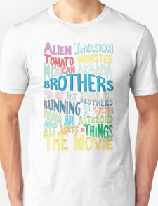 Rick and Morty Two Brothers Handlettered Quote Unisex T-Shirt
