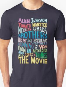 Rick and Morty Two Brothers Handlettered Quote T-Shirt