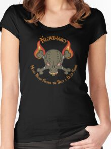 D&D Tee - Necromancy Women's Fitted Scoop T-Shirt