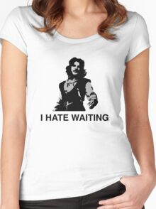I Hate Waiting Women's Fitted Scoop T-Shirt