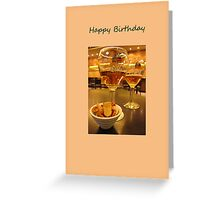 Birthday Drink Greeting Card
