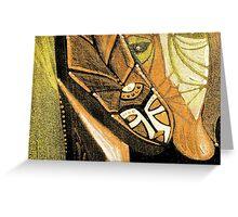 snake shaman series Greeting Card