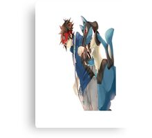 Pokemon Character Canvas Print