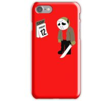 Friday The 13th Parody iPhone Case/Skin