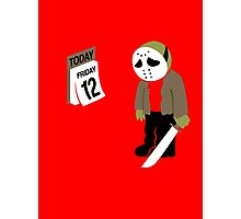 Friday The 13th Parody Photographic Print