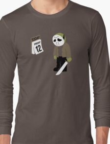 Friday The 13th Parody Long Sleeve T-Shirt