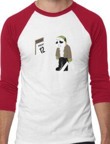 Friday The 13th Parody Men's Baseball ¾ T-Shirt