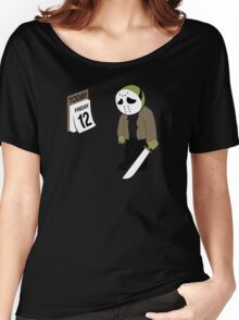 Friday The 13th Parody Women's Relaxed Fit T-Shirt